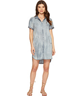 Michael Stars - Linen Denim Tencel Shirtdress