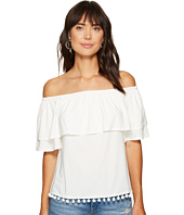 kensie - Slinky Knit Off Shoulder Top KS6K306S