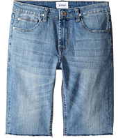 Hudson Kids - Hess Cut Off Slim Straight Shorts in Rhythm Blue (Big Kids)