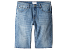 Hudson Kids - Hess Cut Off Slim Straight Shorts in Rhythm Blue (Big Kids)