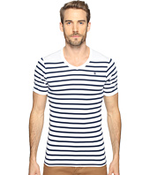 G-Star - Short Sleeve Ramic Stripe V-Neck T-Shirt