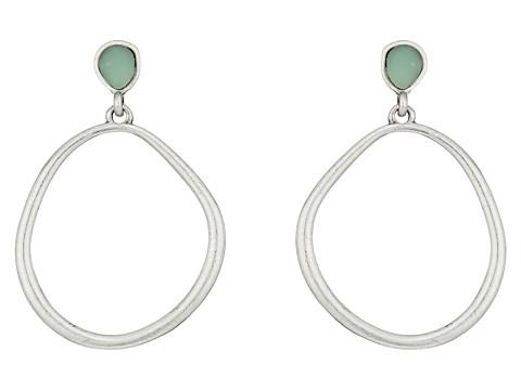 The Sak Color Doorknocker Earrings - Amazonite