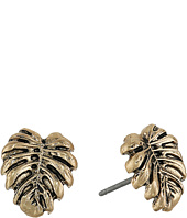 The Sak - Leaf Stud Earrings