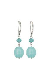The Sak - Double Bead Drop Earrings