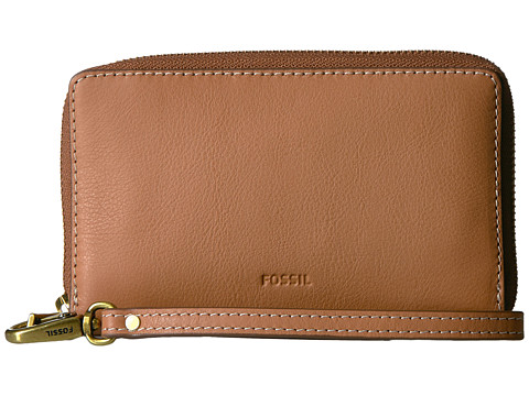 Fossil Emma Smartphone Wristlet RFID - Tan