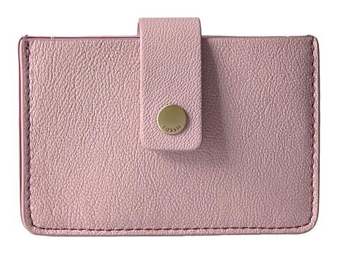 Fossil Mini Tab Wallet - Powder Pink
