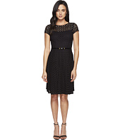 Ellen Tracy - Eyelet Lace Fit & Flare