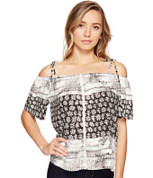 Michael Stars - Charlotte Print Off the Shoulder Top