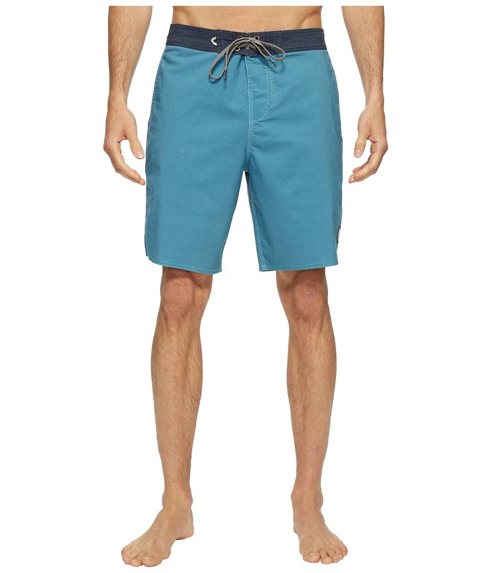 Roark Well Worn Boardshorts (Blue) Men