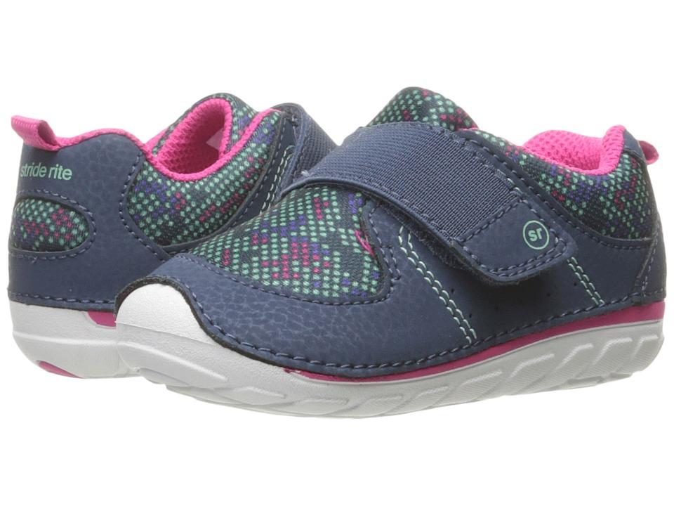 Stride Rite SM Ripley (Infant/Toddler) (Navy/Digi) Girl's Shoes