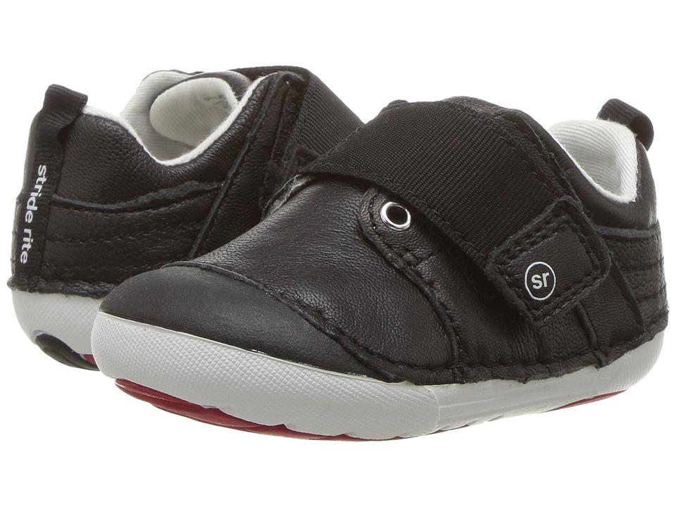 Stride Rite SM Cameron (Infant/Toddler) (Black) Boy's Shoes