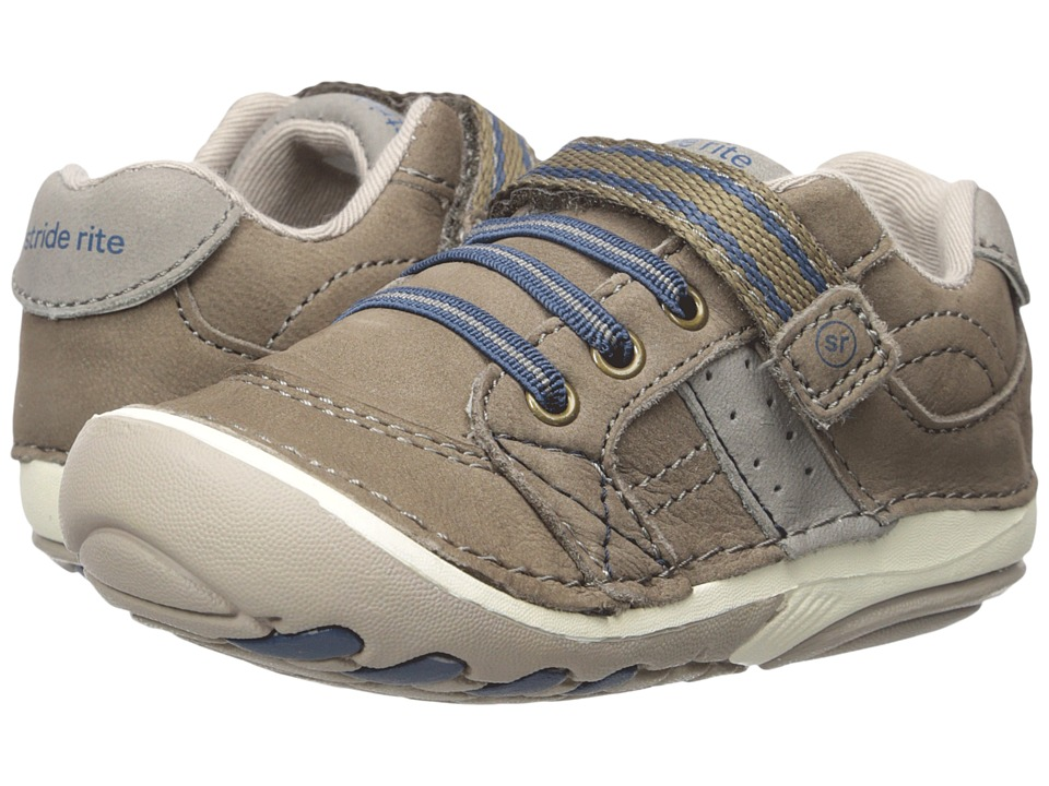 Stride Rite - SRT SM Artie (Infant/Toddler) (Truffle) Boys Shoes