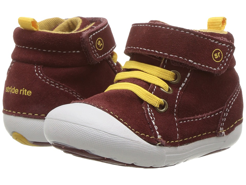 Stride Rite SM Danny (Infant/Toddler) (Maroon) Boy's Shoes