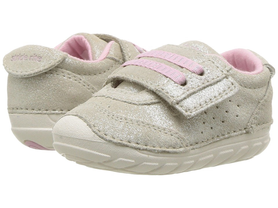 Stride Rite Soft Motion Wyatt (Infant/Toddler) (Gold/Champagne) Girls Shoes