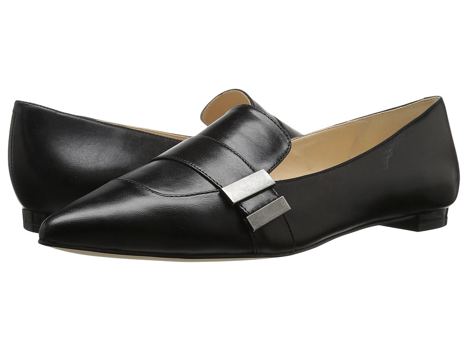 Nine West Allen (Black Leather) Women