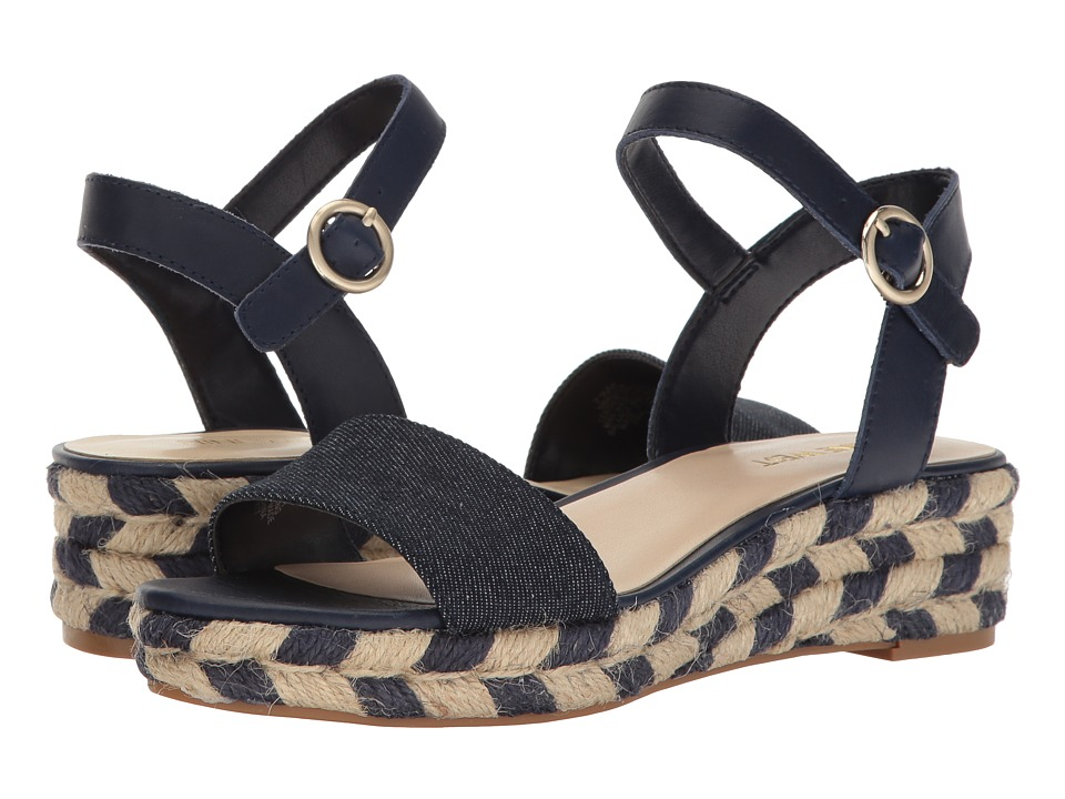 Nine West Allium (Navy Leather) Women