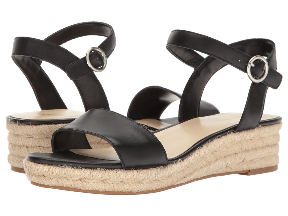 Nine West Allium (Black Leather) Women