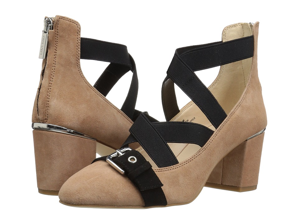 Nine West Andrew (Natural Multi Suede) Women