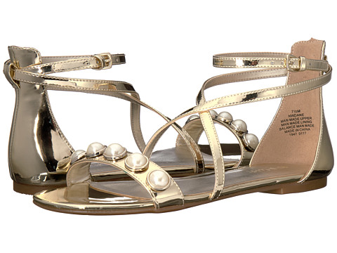 Nine West Dane 3 - Light Gold Patent