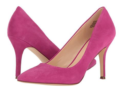 Nine West Flax - Pink Suede