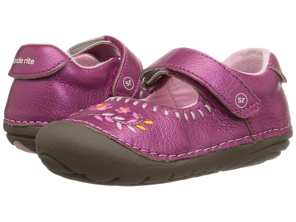 Stride Rite SM Atley (Infant/Toddler) (Pink) Girl's Shoes
