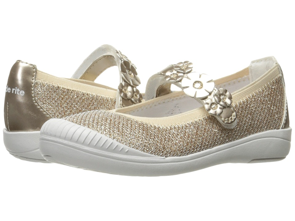 Stride Rite Layla (Toddler/Little Kid) (Gold) Girls Shoes