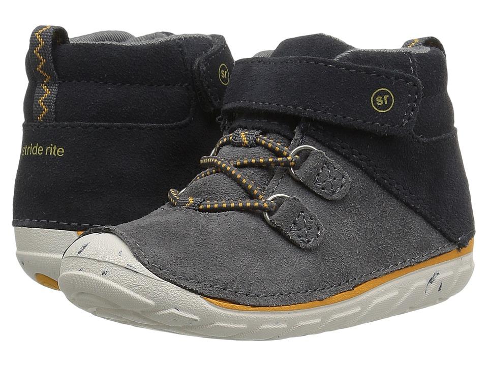 Stride Rite Soft Motion Oliver (Infant/Toddler) (Grey) Boys Shoes