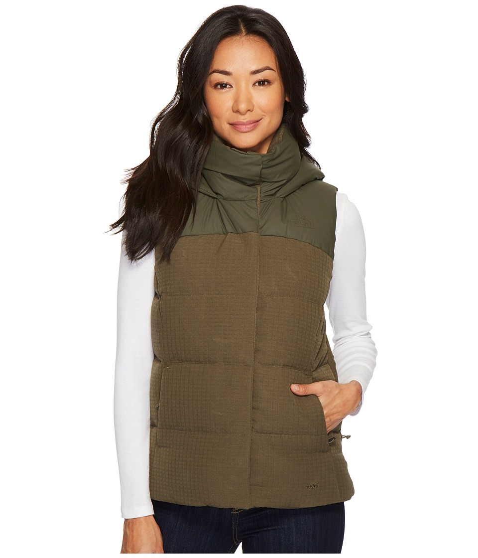 The North Face Novelty Nuptse Vest (New Taupe Green) Women