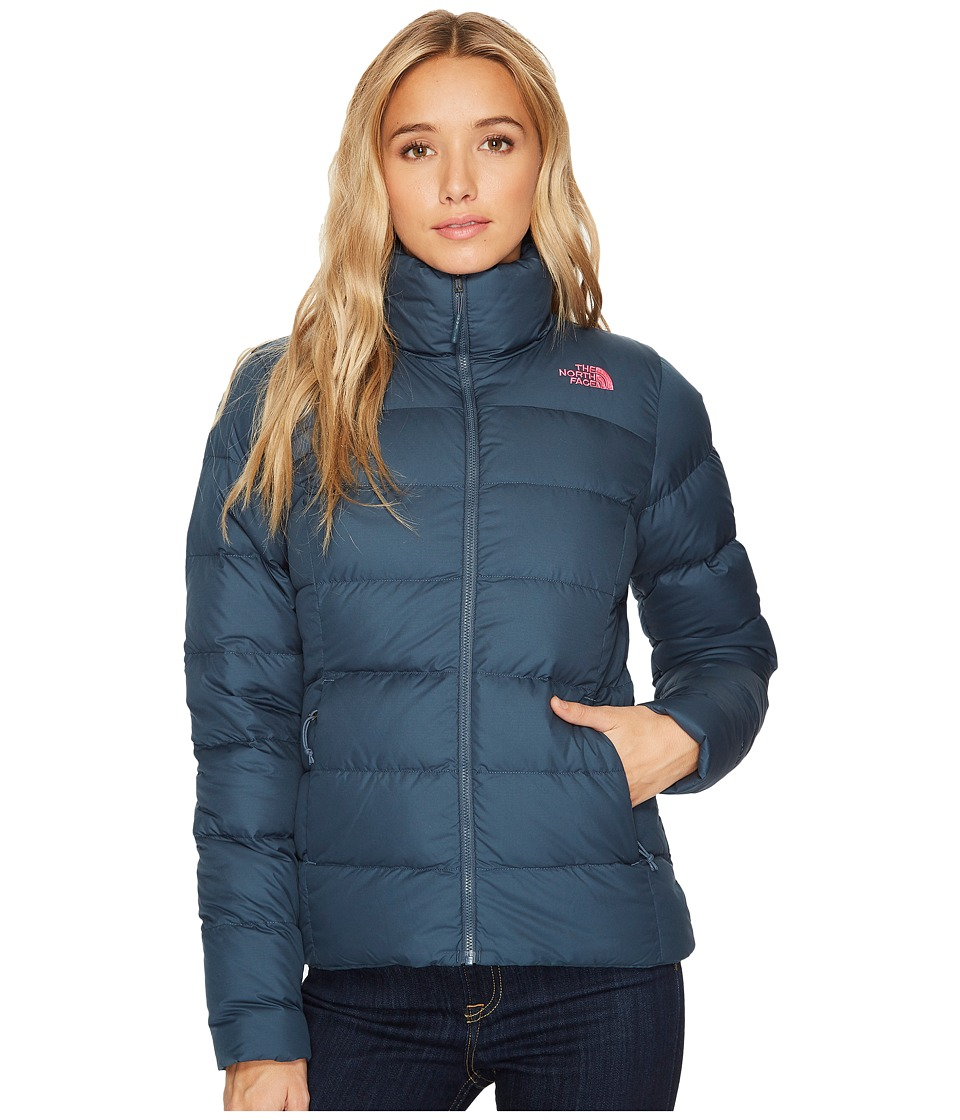 The North Face - Nuptse Jacket (Ink Blue) Womens Jacket
