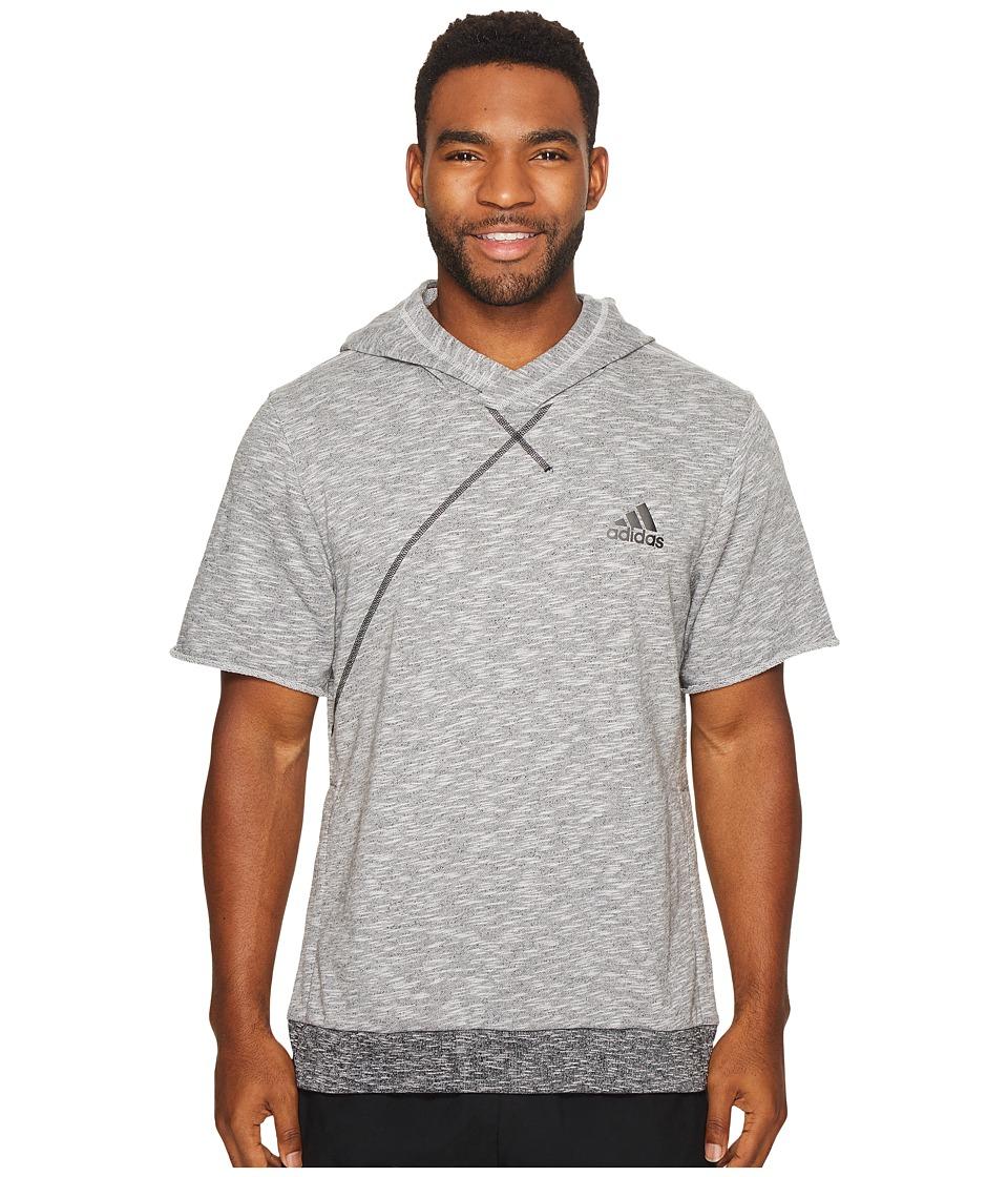 adidas - Cross Up Short Sleeve Hoodie