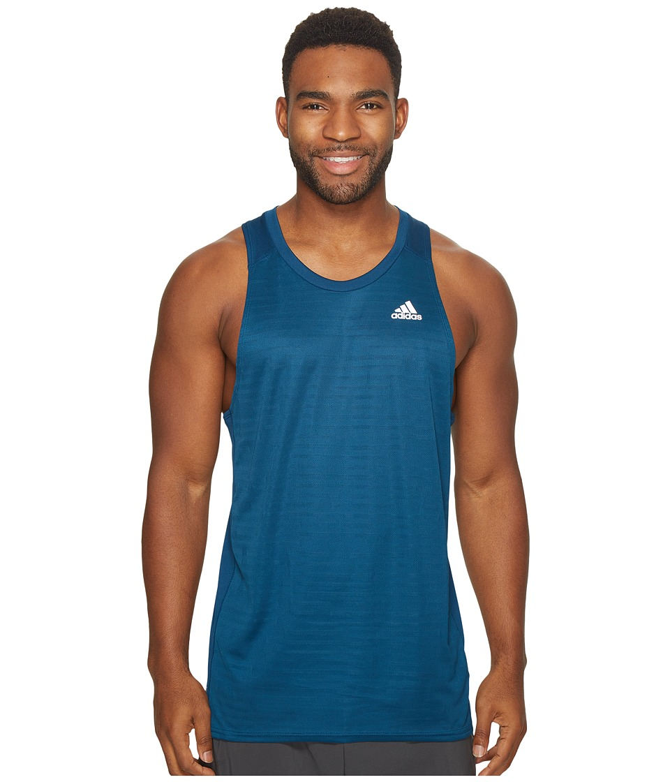 adidas Response Singlet (Blue Night) Men