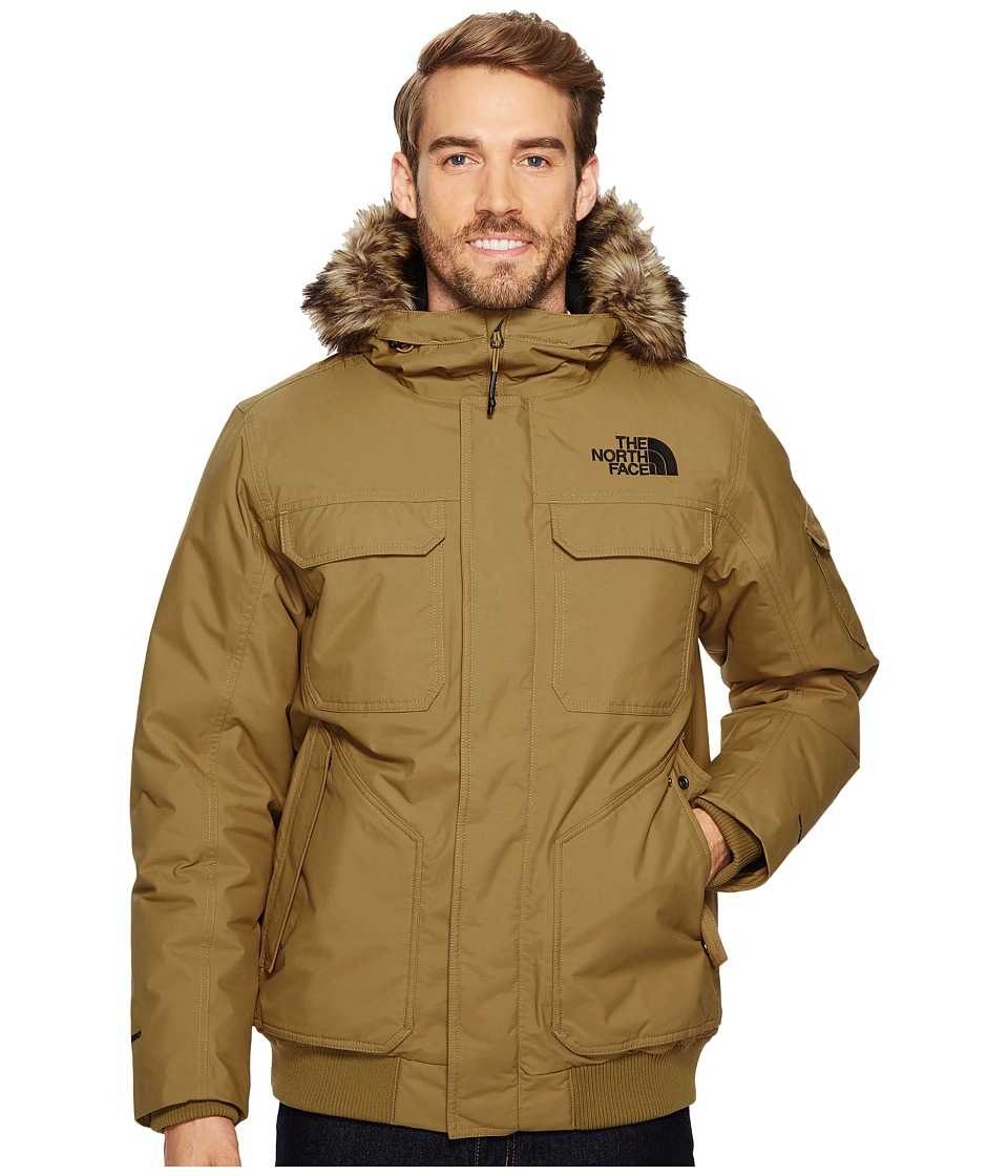 North Face Gotham Jacket III (British Khaki) Men's Coat