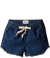 Hudson Kids - Frayed Chambray Jog Shorts in Galeon (Toddler/Little Kids)
