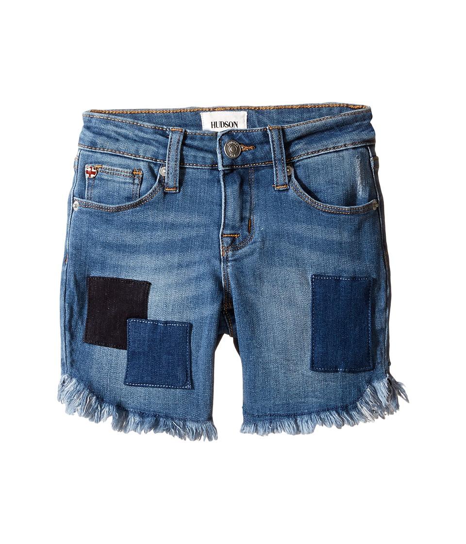 Hudson Kids - Shadow Midi Shorts in Beach Blue