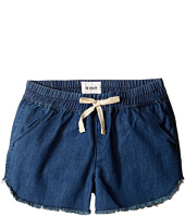 Hudson Kids - Frayed Chambray Jog Shorts in Galeon (Big Kids)