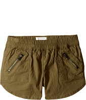 Hudson Kids - Twill Jogger Shorts with Zippers in Amazon (Big Kids)