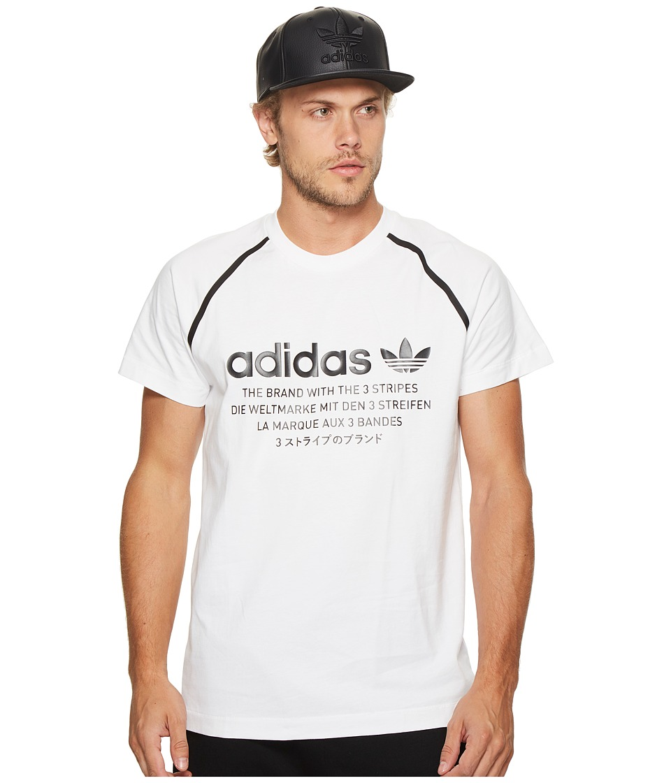 adidas Originals NMD Tee (White) Men