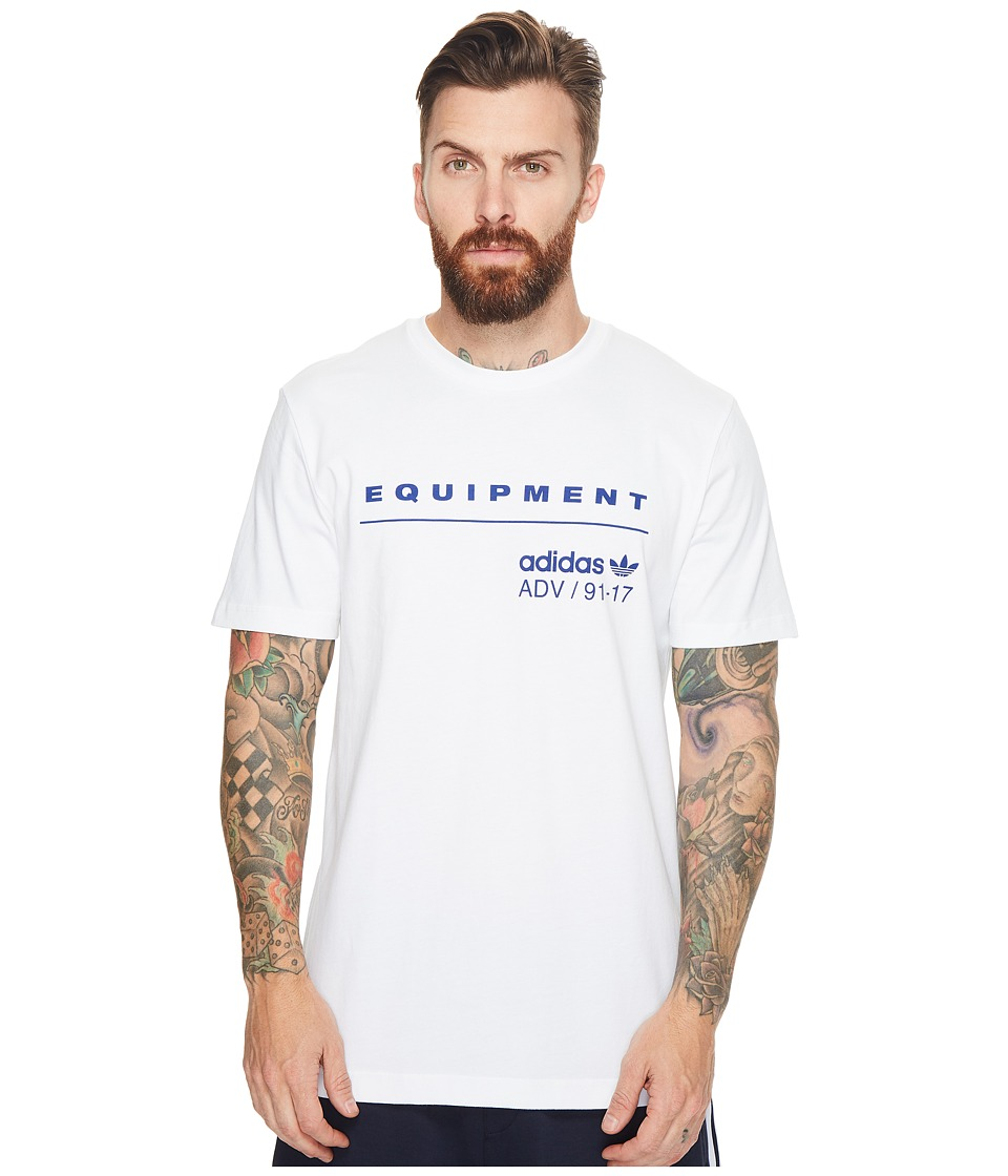 adidas Originals PDX Classic Tee (White/Mystery Ink) Men