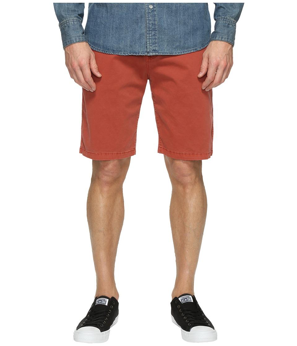 Lucky Brand Comfort Stretch Shorts (Marsala) Men
