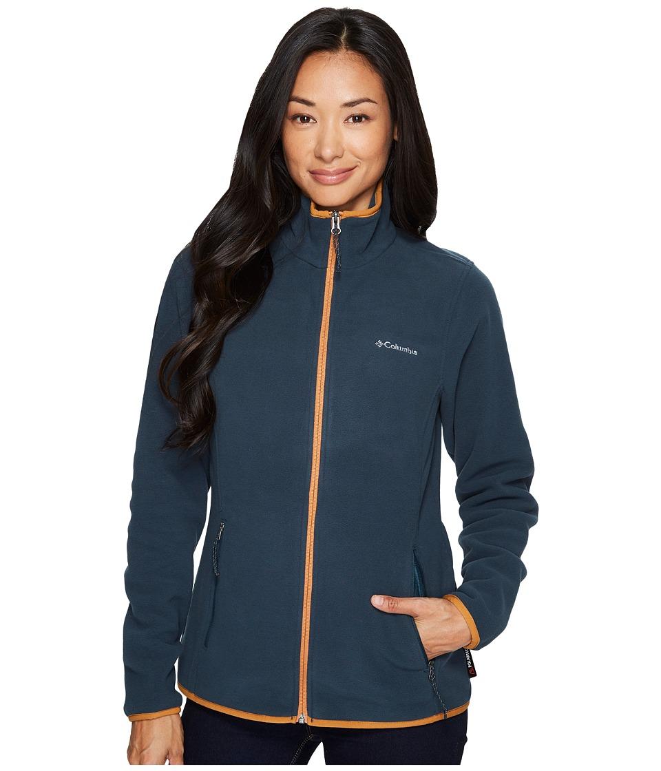 Columbia Fuller Ridgetm Fleece Jacket (Night Shadow/Canyon Gold) Women