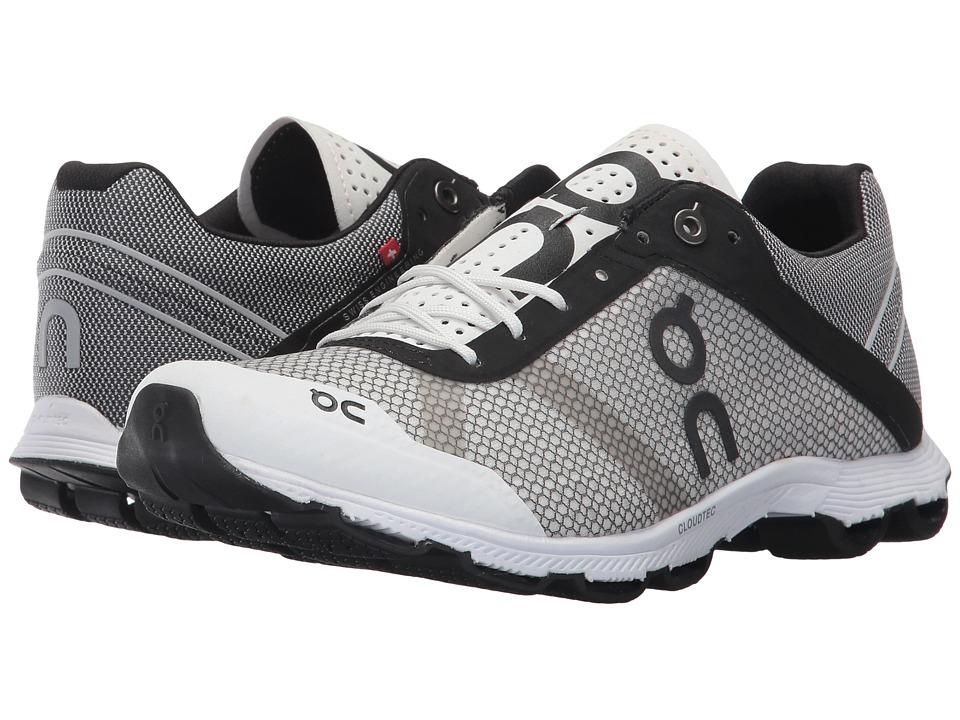 On Cloudrush (Black/White) Women's Shoes