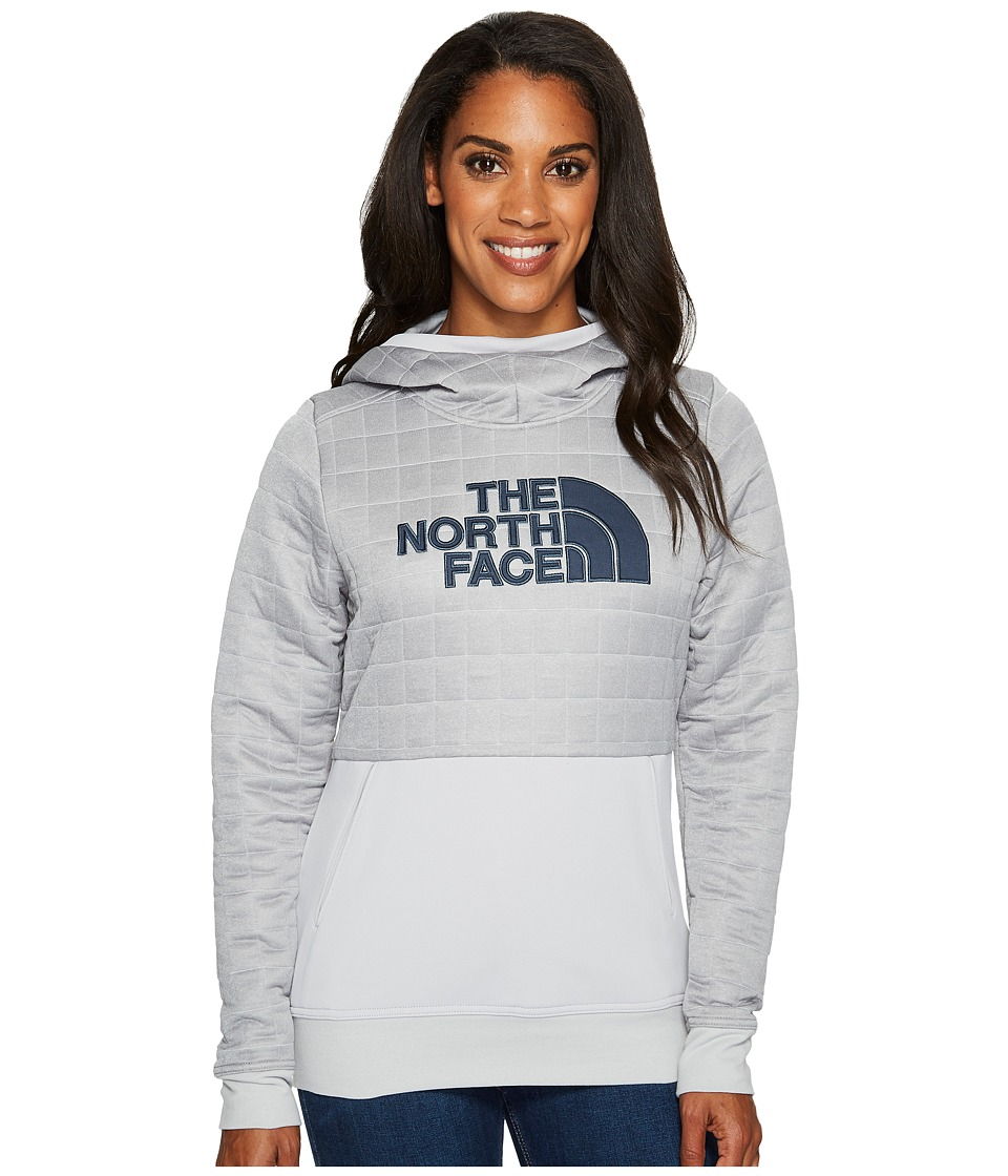 North Face Half Dome Quilted Pullover Hoodie (TNF Light G...