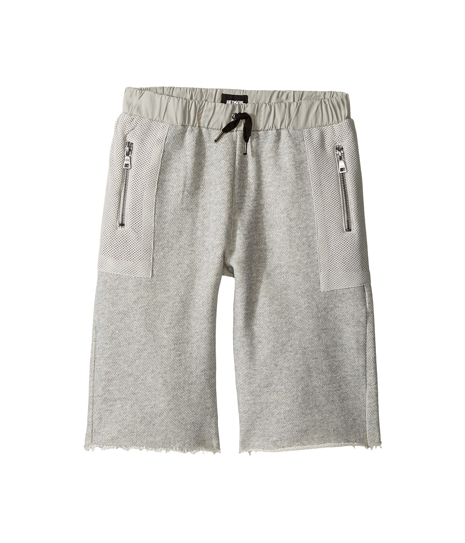 Hudson Kids - High Tech French Terry Shorts in Charcoal