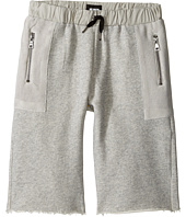 Hudson Kids - High Tech French Terry Shorts in Charcoal (Big Kids)