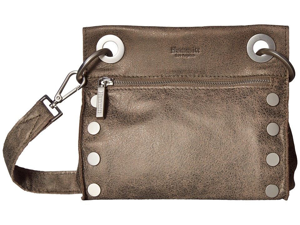 Hammitt - Tony (Pewter/Brushed Silver) Cross Body Handbags