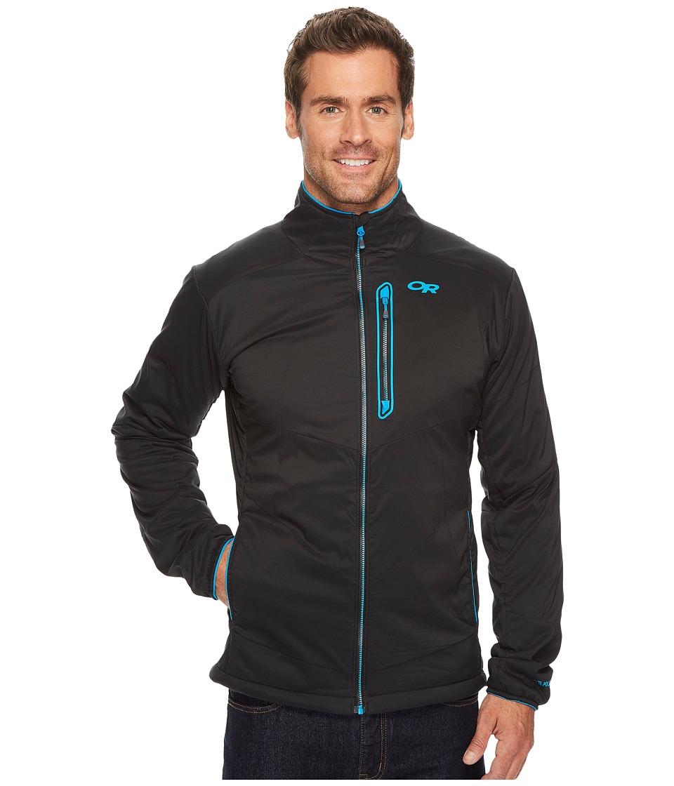Outdoor Research Ascendant Jacket (Black/Tahoe) Men's Coat