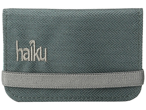 Haiku RFID Mini Wallet - Balsam Green