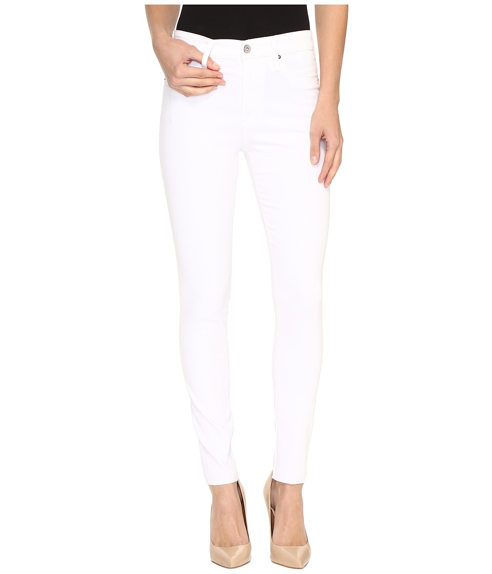 AG Adriano Goldschmied - Farrah Crop in White (White) Womens Jeans