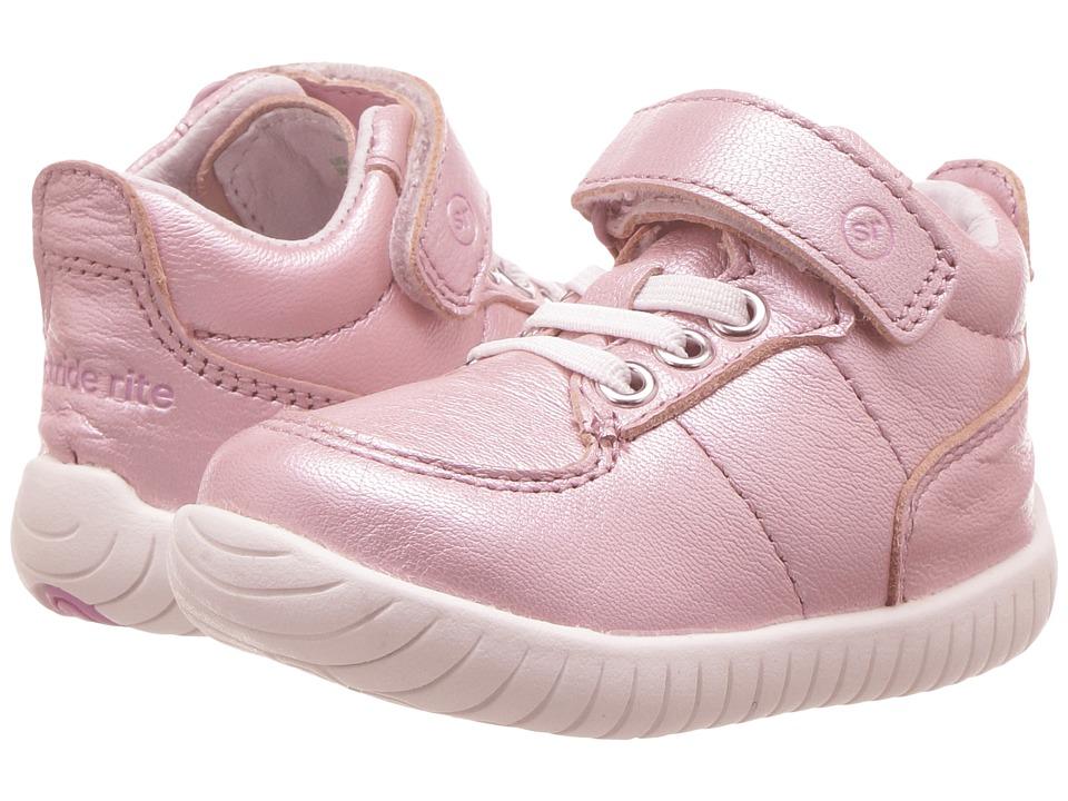 Stride Rite SRTech Bailey (Infant/Toddler) (Pink Metallic) Girls Shoes