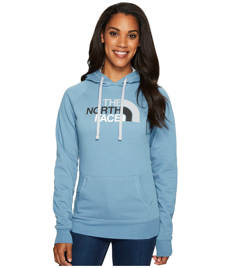 North Face Half Dome Hoodie (Provincial Blue/High Rise Gr...